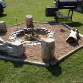 110 Fabulous Gravel Patio Ideas with Fire Pits 07