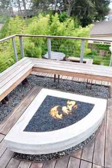 110 Fabulous Gravel Patio Ideas with Fire Pits 08