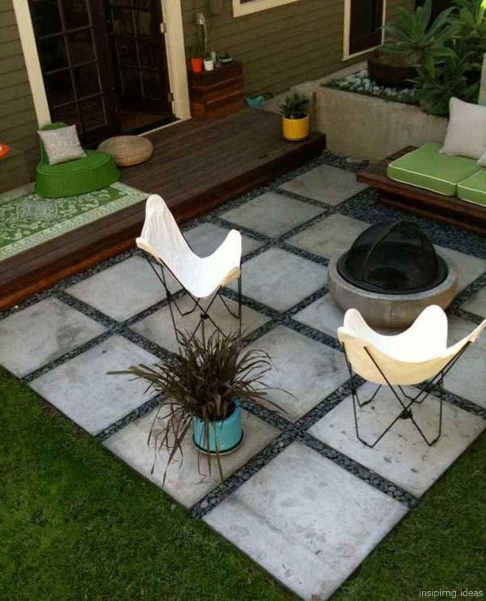 110 Fabulous Gravel Patio Ideas with Fire Pits 100