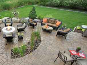 110 Fabulous Gravel Patio Ideas with Fire Pits 104