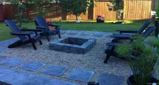 110 Fabulous Gravel Patio Ideas with Fire Pits 20