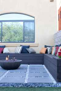 110 Fabulous Gravel Patio Ideas with Fire Pits 23