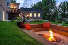 110 Fabulous Gravel Patio Ideas with Fire Pits 33