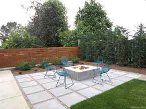 110 Fabulous Gravel Patio Ideas with Fire Pits 44