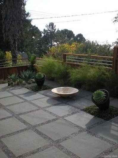 110 Fabulous Gravel Patio Ideas with Fire Pits 51
