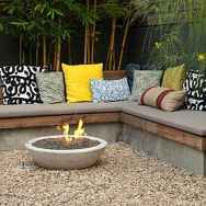110 Fabulous Gravel Patio Ideas with Fire Pits 58