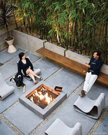 110 Fabulous Gravel Patio Ideas with Fire Pits 65
