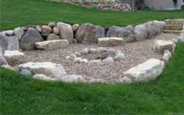 110 Fabulous Gravel Patio Ideas with Fire Pits 66