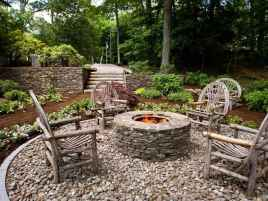 110 Fabulous Gravel Patio Ideas with Fire Pits 88