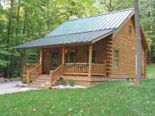 24 Affordable Log Cabin Homes Ideas