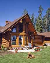 39 Affordable Log Cabin Homes Ideas