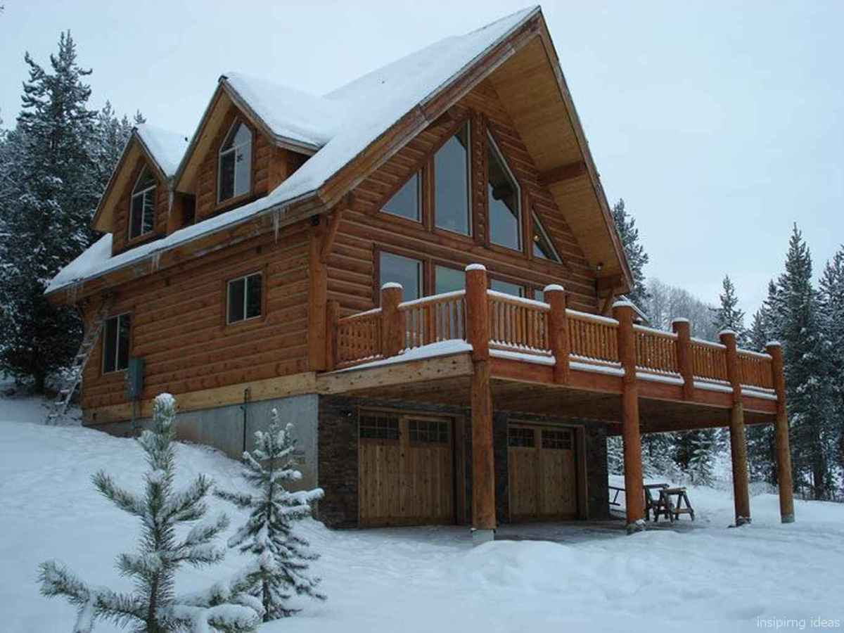 56 Affordable Log Cabin Homes Ideas