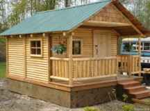 61 Affordable Log Cabin Homes Ideas