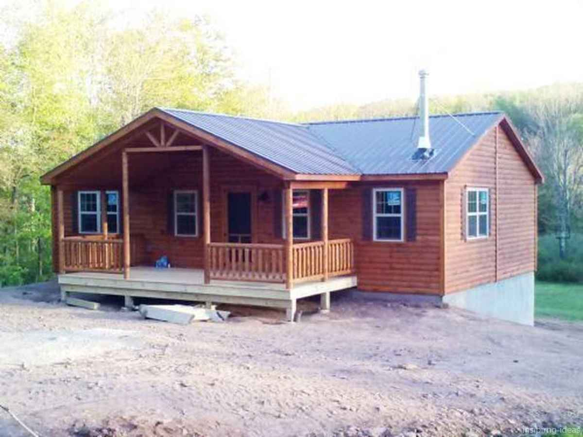 70 Affordable Log Cabin Homes Ideas