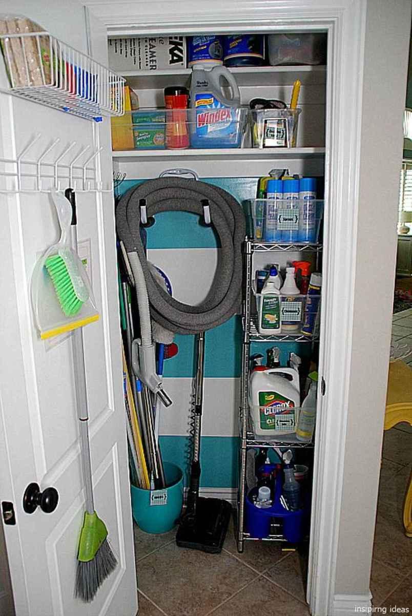 Genius Cleaning Supply Closet Organization Ideas 09