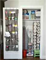 Genius Cleaning Supply Closet Organization Ideas 24