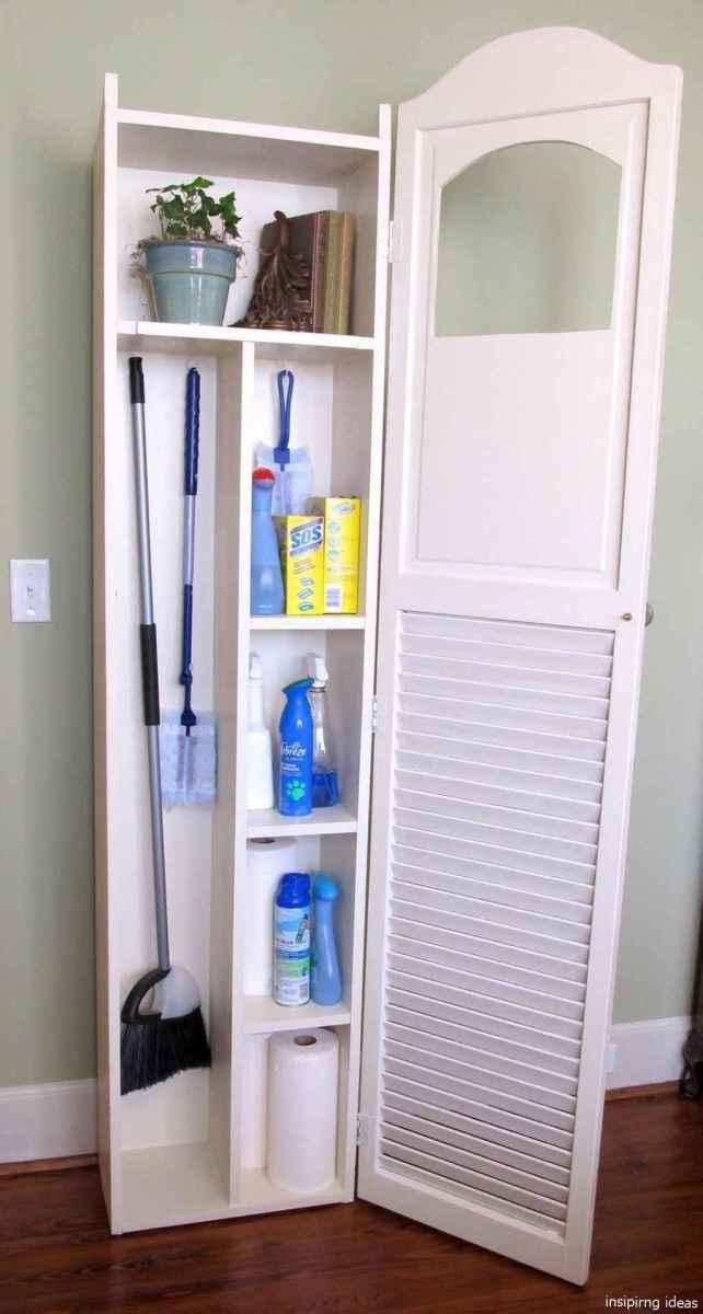 Genius Cleaning Supply Closet Organization Ideas 28
