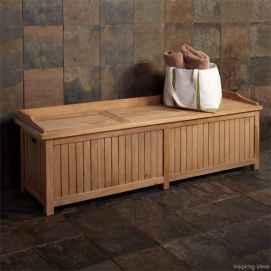 Rustic DIY Storage Bench Ideas 15
