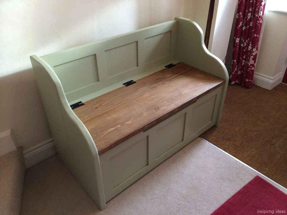 Rustic DIY Storage Bench Ideas 17