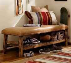 Rustic DIY Storage Bench Ideas 18