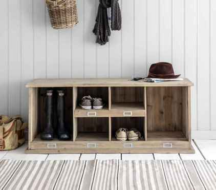 Rustic DIY Storage Bench Ideas 31