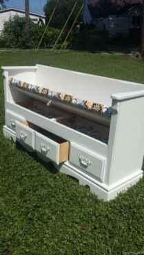 Rustic DIY Storage Bench Ideas 32