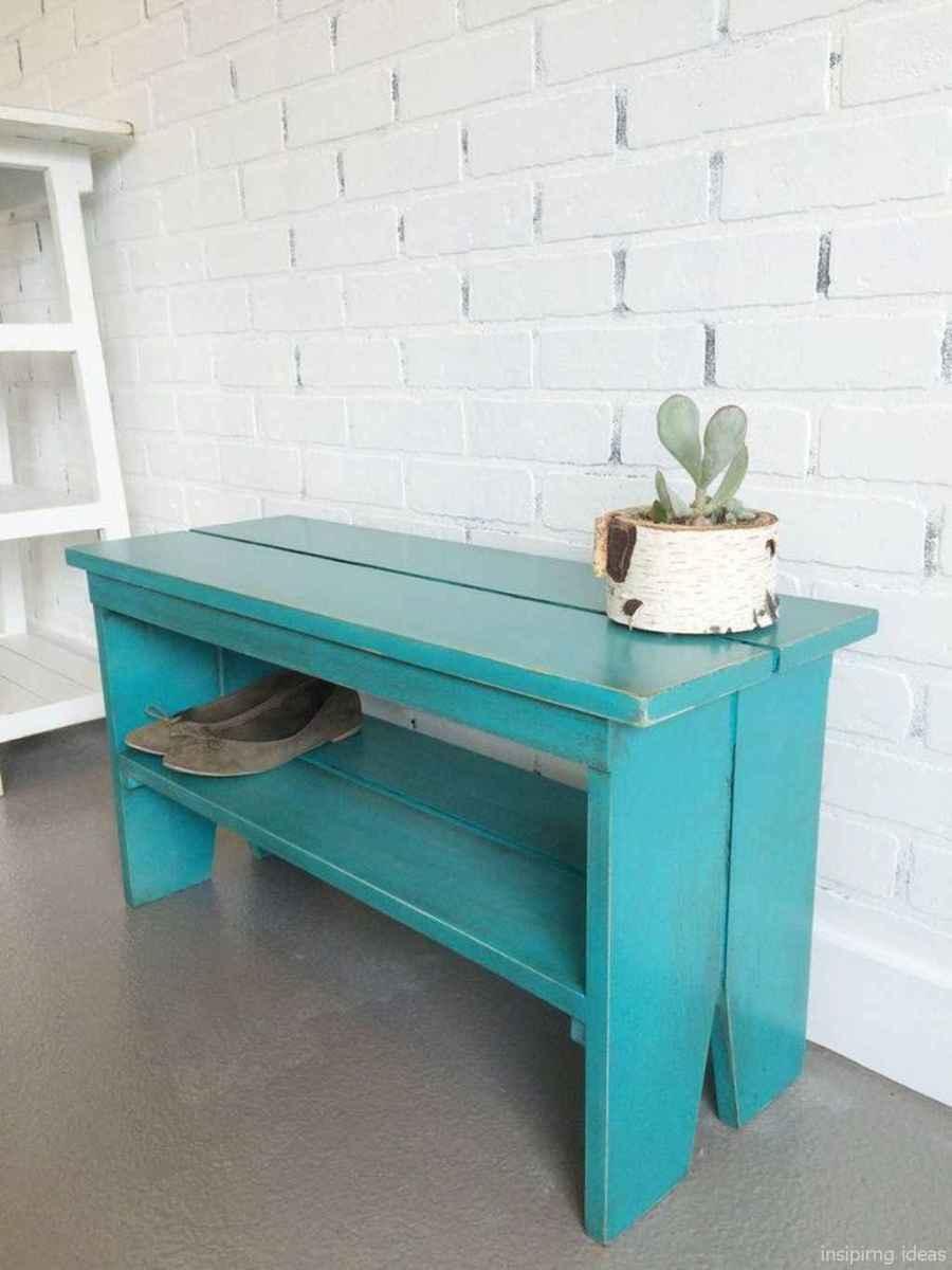 Rustic DIY Storage Bench Ideas 34