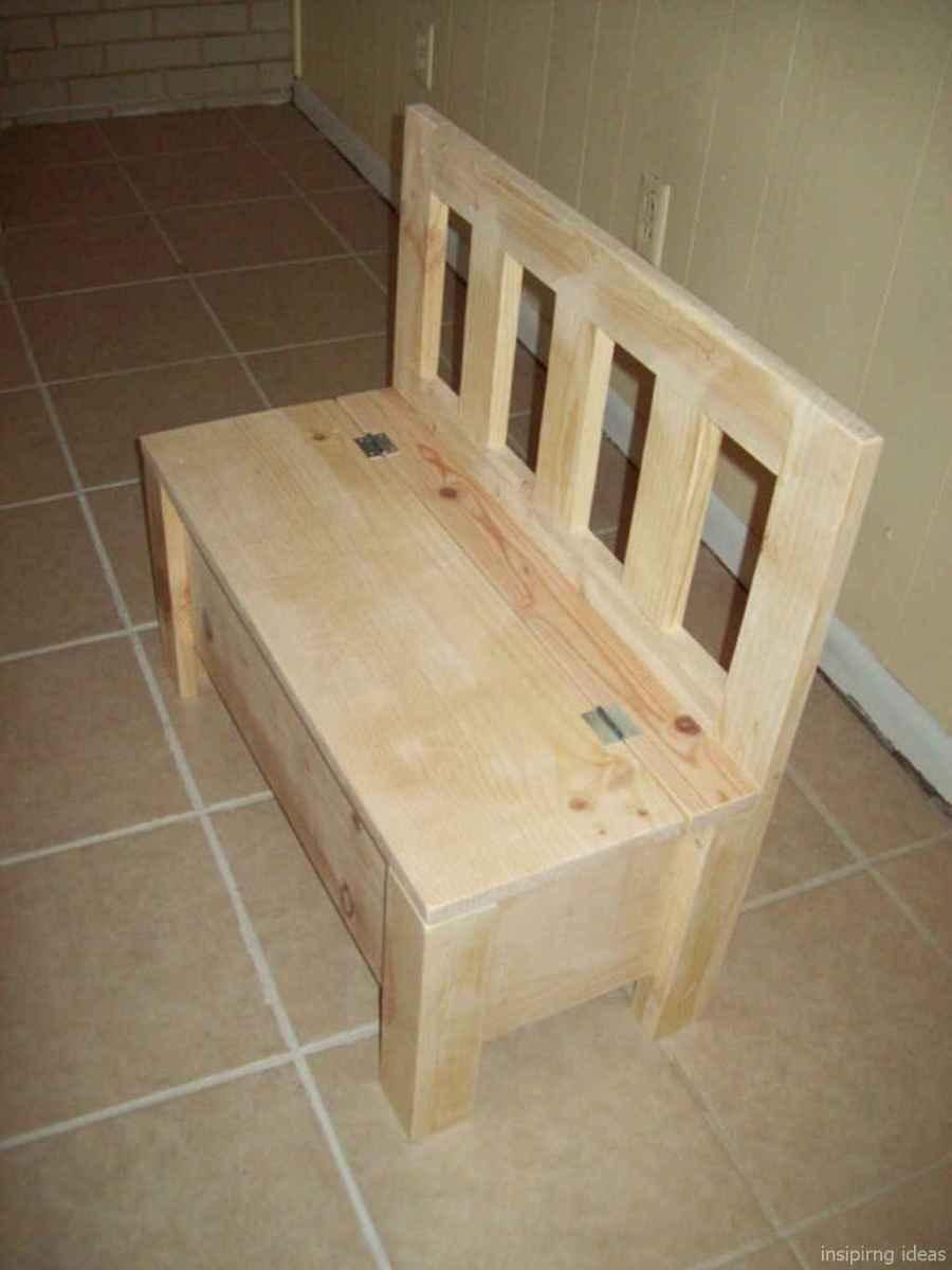 Rustic DIY Storage Bench Ideas 38