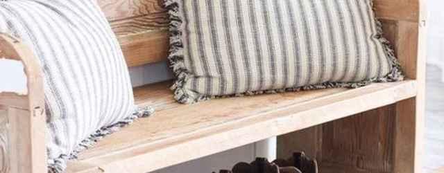 Rustic DIY Storage Bench Ideas 42