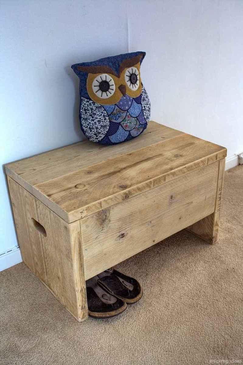 Rustic DIY Storage Bench Ideas 50