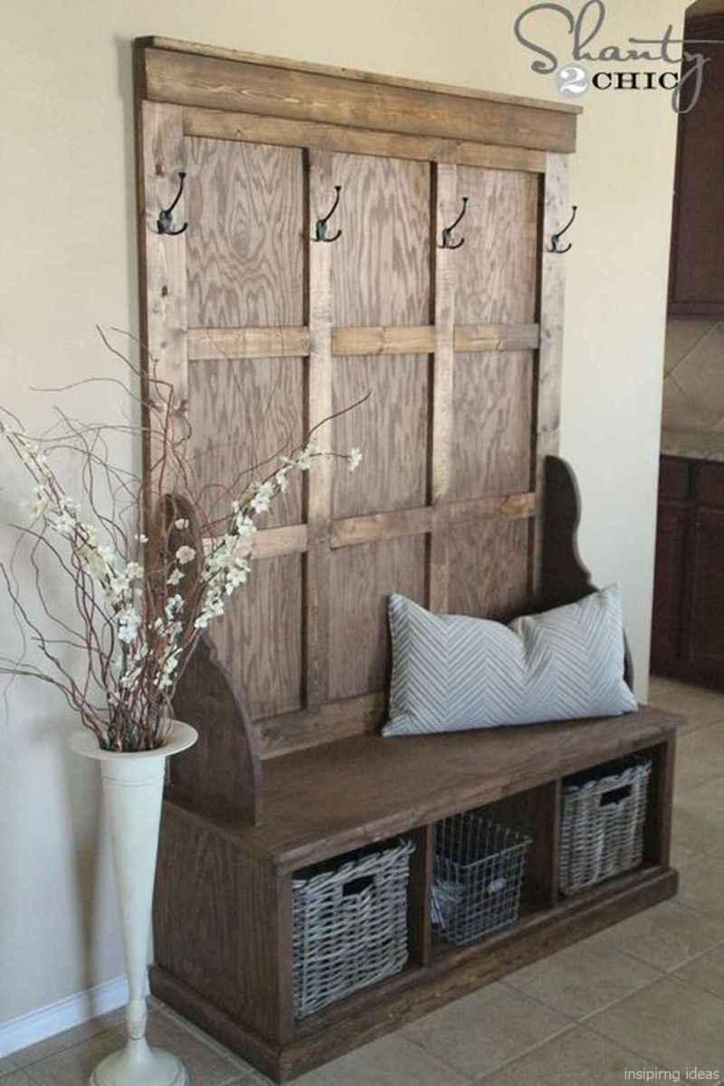 Rustic DIY Storage Bench Ideas 72