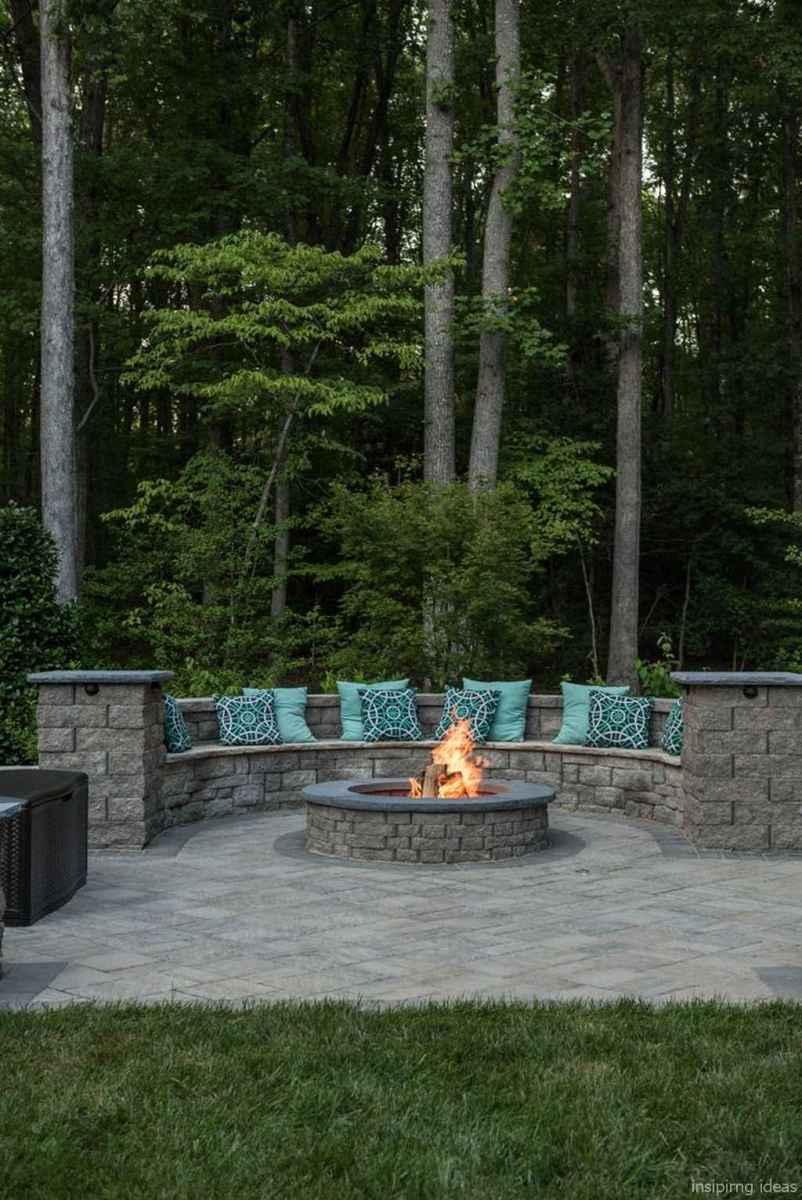100+ Cheap Backyard Fire Pits Design 03