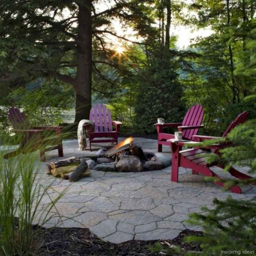 100+ Cheap Backyard Fire Pits Design 103