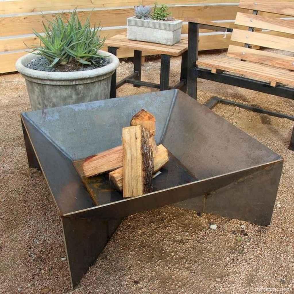 100+ Cheap Backyard Fire Pits Design 19