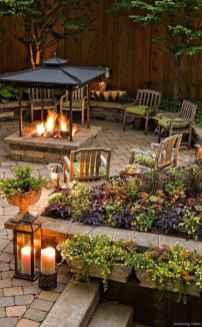 100+ Cheap Backyard Fire Pits Design 27