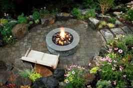 100+ Cheap Backyard Fire Pits Design 47