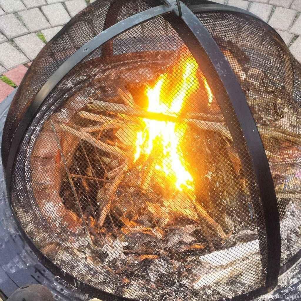 100+ Cheap Backyard Fire Pits Design 65