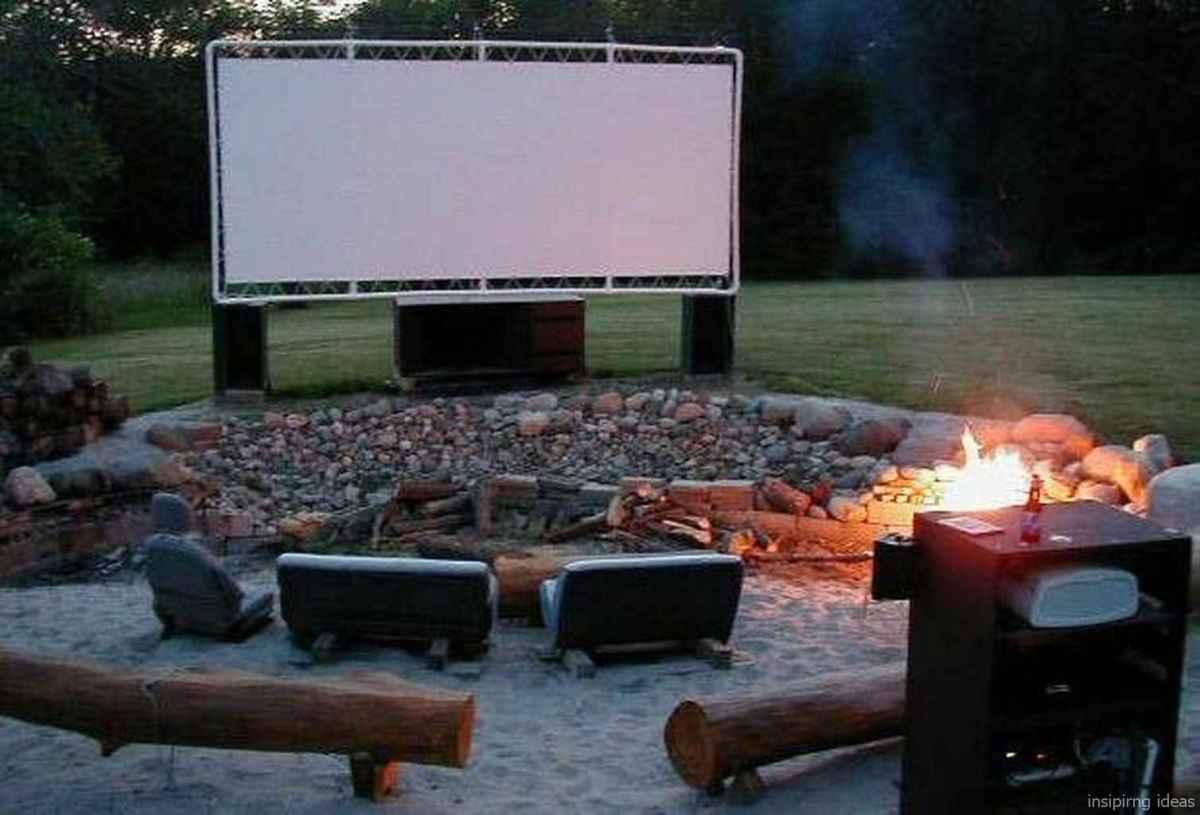 100+ Cheap Backyard Fire Pits Design 97