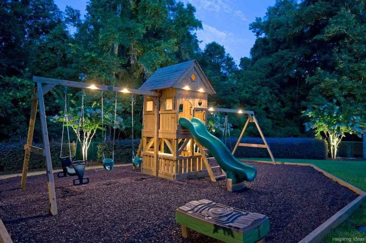 49 Backyard Playground Design Ideas
