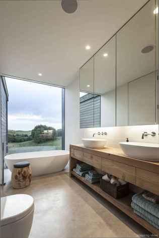 77 Fabulous Modern Farmhouse Bathroom Tile Ideas 13