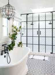 77 Fabulous Modern Farmhouse Bathroom Tile Ideas 44