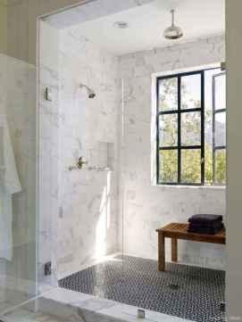 77 Fabulous Modern Farmhouse Bathroom Tile Ideas 75