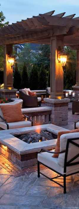Fabulous Patio Ideas with Pergola 08