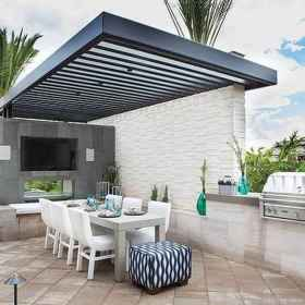 Fabulous Patio Ideas with Pergola 47