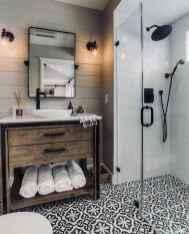04 Best Modern Farmhouse Master Bathroom Design Ideas