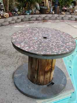 05 DIY Upcycled Spool Project Ideas for Outdoor Furniture