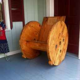 12 DIY Upcycled Spool Project Ideas for Outdoor Furniture