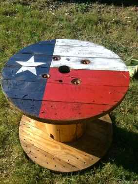 20 DIY Upcycled Spool Project Ideas for Outdoor Furniture