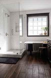 24 Best Modern Farmhouse Master Bathroom Design Ideas