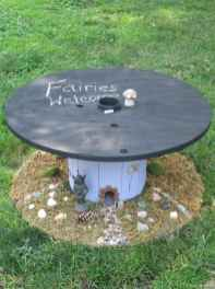 27 DIY Upcycled Spool Project Ideas for Outdoor Furniture
